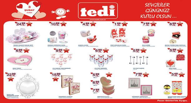 TEDİ 3 Şubat 2017 Aktüel Ürünler Katalogu
