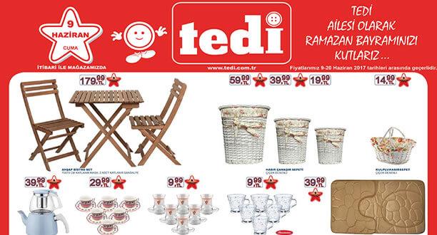 TEDİ 9-14 Haziran 2017 Aktüel Ürünler Katalogu